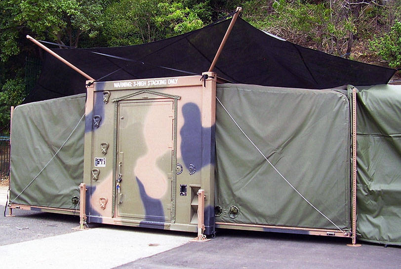 Solar Shades & Deployable Shelter Systems | Global Defence Solutions