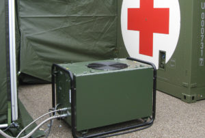 Dantherm ACM 18 CBRN External Deployment